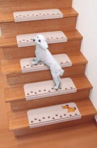 折り曲げ付階段マット KD-5