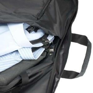 GARMENT CASE ガーメントケース 大型ハンガーケース メンズバッグ 三つ折れ ハンガー3本付 #13064