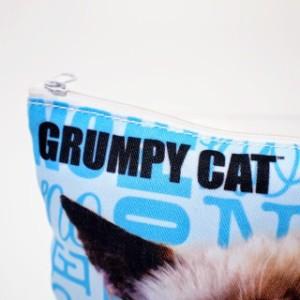 GANZ社 グランピーキャット ポーチ Grumpy Cat(支社倉庫発送品)