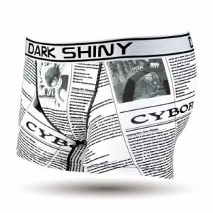 『DARKSHINY ダークシャイニー サイボーグ009 「01number cyborg」』(メンズ/男性/ボクサーパンツ/下着/アンダーウェア)〔MPDM00580〕