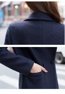 アウター レディース シンプルジャケット 7分袖 あったか コート 【jk025】 *a