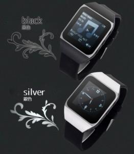 MP3プレーヤー腕時計 Bluetooth タッチパネル ボイスレコーダー コンパクト WT367G8