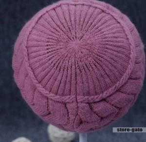 ニットキャスケット ニットキャップ ニット帽 冬 つば付帽子小顔効果 ニットワッチ秋 防寒 温か 小物 紫外線対策