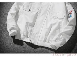 ジャケット メンズ アウター 長袖 スタジアム スタジャン カジュアル 大きいサイズ 2色