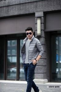 メンズ ダウンジャケット 防寒 アウター ライトダウン 軽量 冬服 ブルゾン ダウンコート メンズジャケット 防寒 ジャケット