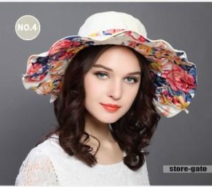 帽子 折りたためる リバーシブル 日よけ 紫外線対策 UVカット 日焼け対策GATO 日差し 帽子 リバーシブル