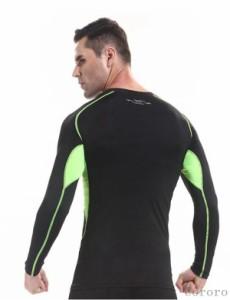 肌着 スポーツTシャツ 長袖 ランニングウェア 軽量 ストレッチ Tシャツ 吸汗速乾 トップス 伸縮性強 フィットネス タイツ ジョギング メ