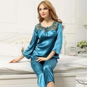 寝巻き ルームウェア プレゼント用 絹 ナイトウェア 女性 パジャマ 肌触り抜群 レディース 大きめ 寝間着 シルクパジャマ セットアップ