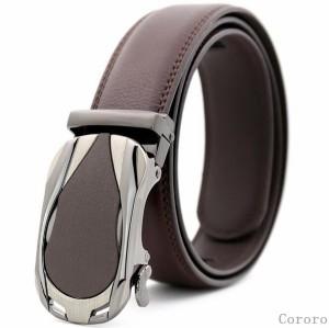 メンズベルト オートロック式 レザーベルト カジュアル PU スーツ 個性 おしゃれ 父の日 ビジネス 革ベルト ファッション シンプル