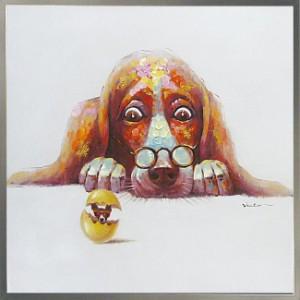 アート 絵画 壁掛け インテリア / ドッグ / ブサイクだからかわいい、ブサかわアート動物好きにはたまらない /リビング オフィス