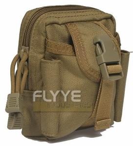 【FLYYE】Mini Duty Waist Bag KH ウエスト バッグ サバイバル/ミリタリーFY-BG-G013-KH