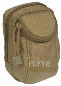 【FLYYE】EDC Mini Camera Bag KH ミニ カメラ バッグ サバイバル/ミリタリーFY-BG-G015-KH