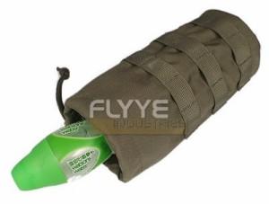 【FLYYE】MOLLE Water Bottle Pouch RG ウォーターボトルポーチ サバイバル/ミリタリーFY-PH-C001-RG