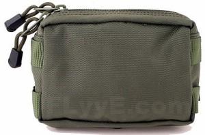 【FLYYE】Small MOLLE Accessories Pouch OD アクセサリーポーチ サバイバル/ミリタリーFY-PH-C005-OD