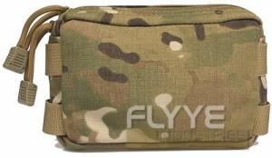 【FLYYE】Small MOLLE Accessories Pouch MC アクセサリーポーチ サバイバル/ミリタリーFY-PH-C005-MC