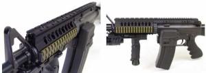 LayLax(ライラクス) NITRO.Vo レイルスリーブ M16 PK SK-4582109581865