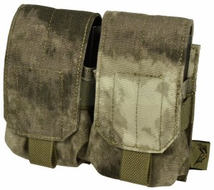 【FLYYE】MOLLE Double M14 Mag Pouch A-TACS マグポーチ サバイバル/ミリタリー FY-PH-M009-AT