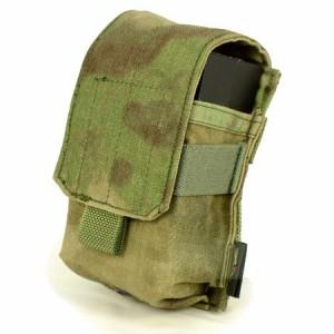 【FLYYE】MOLLE Single M14 Mag Pouch A-TACS FG (A-TACS森林ver) マグポーチ サバイバル/ミリタリー FY-PH-M008-FG