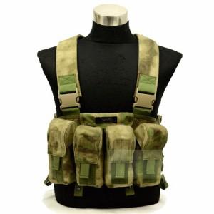 【FLYYE】LBT AK Tactical Chest Vest A-TACS タクティカルチェストベスト サバイバル/ミリタリー FY-VT-C006-AT