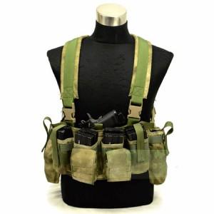 【FLYYE】LBT M4 Tactical Chest Vest A-TACS FG (A-TACS森林ver) タクティカルチェストベスト サバイバル/ミリタリー FY-VT-C008-FG