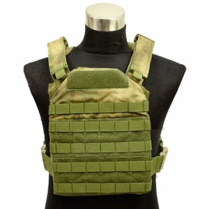 【FLYYE】Fast Attack Plate Carrier GEN 1 A-TACS FG (A-TACS森林ver) サバイバル/ミリタリー FY-VT-M001-FG
