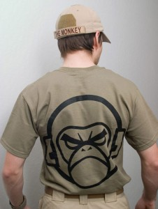 MIL-SPEC MONKEY(ミルスペックモンキー)MSM Tシャツ MSM LOGO T-SHIRT  DustyBrown shirt-00001-dusty  sk-61034-61035