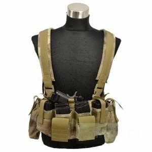 【FLYYE】LBT M4 Tactical Chest Vest A-TACS タクティカルチェストベスト サバイバル/ミリタリー FY-VT-C008-AT