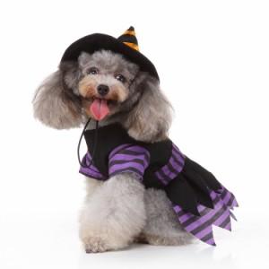 クリスマス魔女犬コスチュームペットハロウィンコスプレ仮装