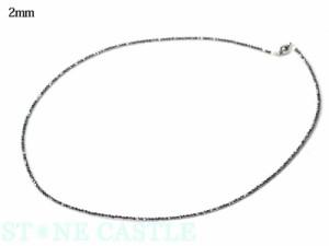 ☆高品質☆【天然石 ネックレス】テラヘルツ鉱石 カットネックレス パワーストーン