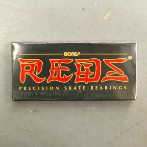"""BONES/ボーンズ REDS スケートボード用ベアリング/BEARING スケボーSK8"""