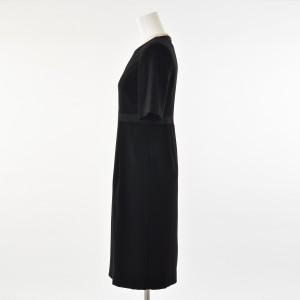 61459466b74ecf ソリテール(SORITEAL)/【ブラックフォーマル】テーラードジャケットとサテン切り替えワンピの. カラー(01)