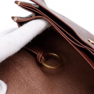 ゲンテン(genten)/シャドーオイル フラップ長財布