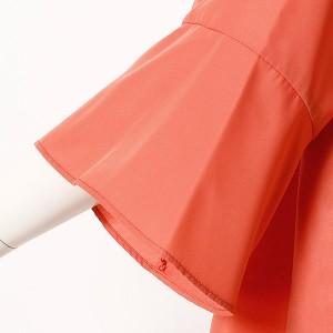 フルールbyミントブリーズ(Fleur)/【大きいサイズ】【L〜5L】袖切替ブラウス