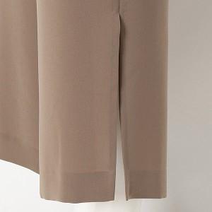 ローズティアラ(大きいサイズ)(Rose Tiara)/全2色【大きいサイズ】【42・46】ウエストベルト付きワイドパンツ
