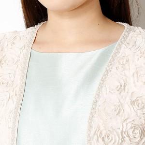 アシール(ASHILL)/花刺繍ビーズボレロ 結婚式/セレモニー/二次会/謝恩会/同窓会/お呼ばれ/フォーマル