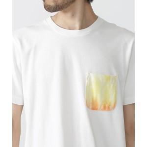 ナノ・ユニバース(メンズ)(nano universe)/【2017SS】//タイダイ染めポケットTシャツ