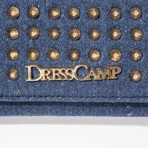 ドレスキャンプ(DRESS CAMP)/DRESSCAMP (ドレスキャンプ) TRIANGULAR スタッズロングウォレット/長財布