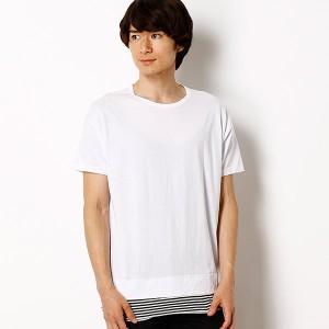 ナノ・ユニバース(メンズ)(nano universe)/【M.A.M】別注レイヤードTシャツ