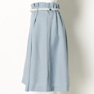 S357(小さいサイズ)(S357)/【小さいサイズ】メッシュベルト付きフレアスカート(3号、5号サイズ/4色展開)