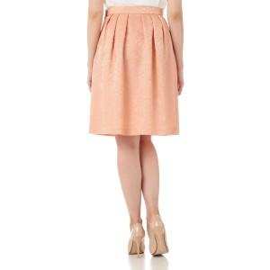 ナチュラルビューティー(NATURAL BEAUTY)/フラワージャガードスカート