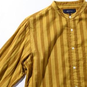 シップス ジェットブルー(SHIPS JET BLUE)/SHIPS JET BLUE: バンドカラーストライプシャツ