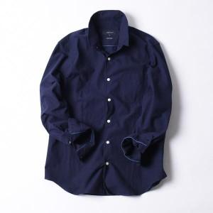 シップス ジェットブルー(SHIPS JET BLUE)/SHIPS JET BLUE: スタンドワイヤー ドビーシャツ