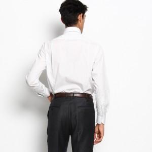 ドレステリア(メンズ)(DRESSTERIOR Mens)/ピンストライプタブカラー ドレスシャツ