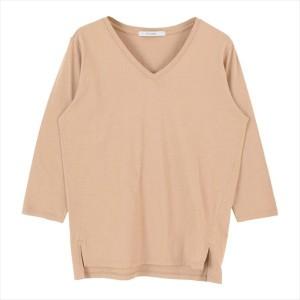 ティティベイト(titivate)/オーガニックコットン7分袖Tシャツ