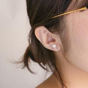 エステール(ESTELLE)/あこや真珠ネックレス・イヤリングセット(6.5−7.0mm)