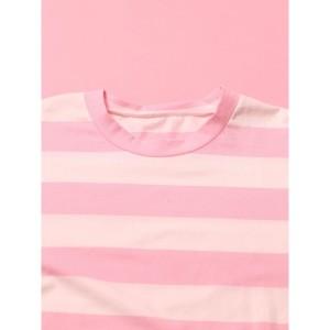 ウィゴー(レディース)(WEGO)/ウィゴー(WC/ボーダービッグロングTシャツ)