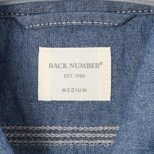 ライトオン(メンズ)(Right−on)/【BACK NUMBER】USAコットンデニムワークシャツ メンズ