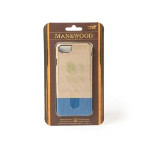bPrビームス(雑貨)(bprbeams)/MAN&WOOD / iPhone8 ケース バイカラー