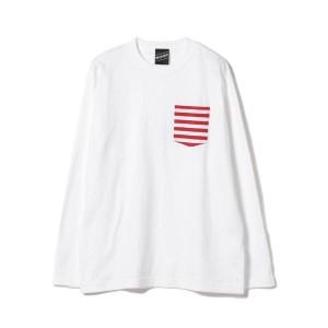 """""""ビームス(BEAMS)/【SPECIAL PRICE】BEAMS T / Border Pocket Long Sleeve"""""""