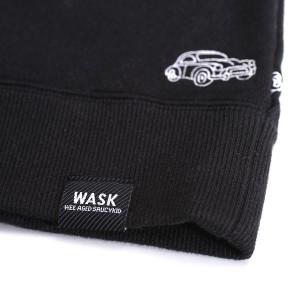 ワスク(WASK)/クルマ総刺繍トレーナー(140cm〜150cm)